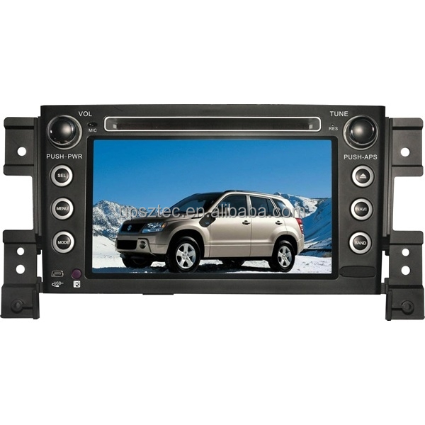UPsztec Wholesale Android Car DVD Player for Suzuki Grand Vitara Navigation Car Radio GPS Support
