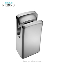Wholesale Toilet Stainless Steel Brushless motor Automatic Double-sided Jet Air Hand Dryer