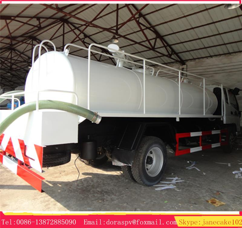 Best price foton 16 ton wc fecal suction