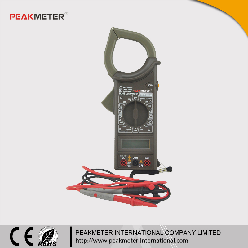 with Insulation Test Same to Mastech M266 Digital Clamp Meter 266