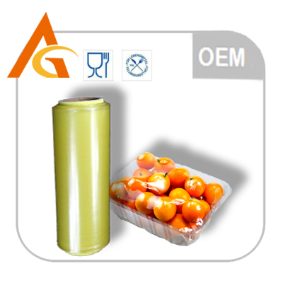 Winter carton/stretch film pallet wrapping film with slide cutter