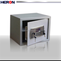 double key lock safe with LCD,Safes and vaults