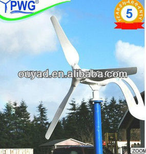 200w/300w/400w,12v/24v portable wind turbine for sale