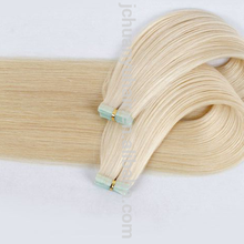 Double Drawn European Skin Weft Remy Tape Hair Extensions Human Hair Thick Bottom Tape In Hair Extensions