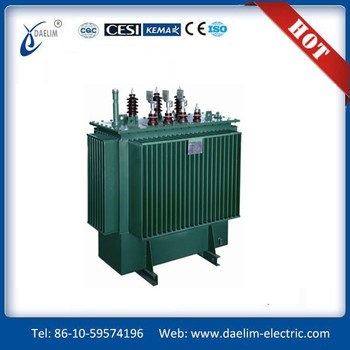 SZ11-M series 6.3kv 800kva Three phase Oil Immersed ONTC Distribution Transformer