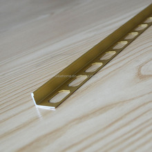 10mm L Shape Kitchen bathroom ceramic wall tile trim 3/8'' L Angle Aluminum Corner Tile Trim