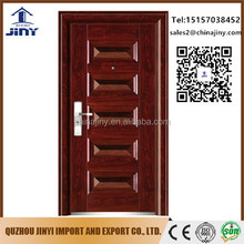 China golden supplier security apartment building popular stainless steel door prices