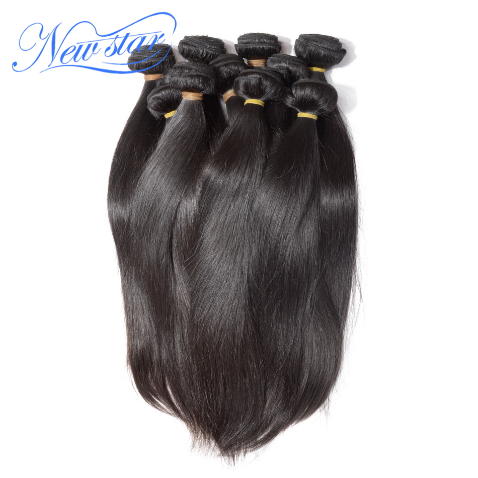 Fashion Style Unprocessed 100 Virgin Brazilian Human Hair Straight Hair 1KG Free Shipping