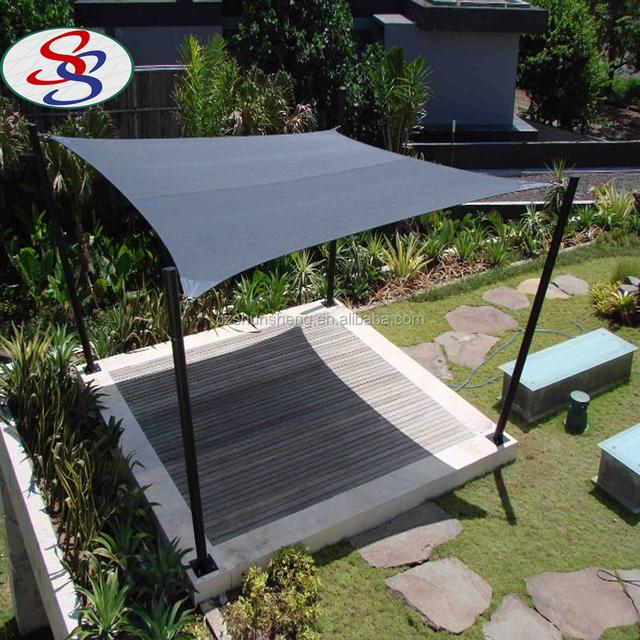100% virgin HDPE outdoor sun shade sail with 90% shade rate