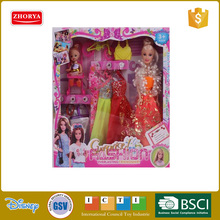 2016 new fashion doll eco-friendly material beautiful for kids mother-daughter doll with accessories