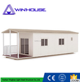 Ready made flat pack container house fast install container house