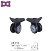 360 New Spinner rubber luggage caster wheels