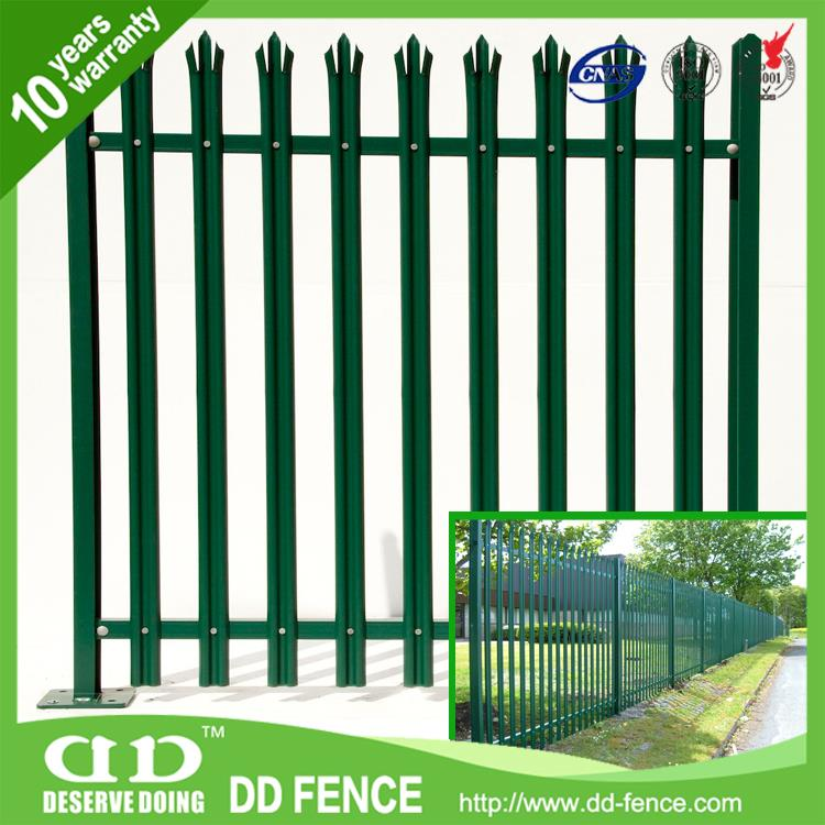Garden Fencing Panels / Steel Fence Post / Decorative Security Gates