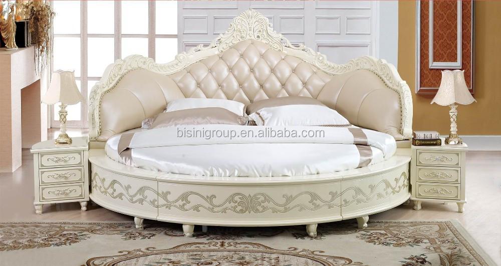 Slaapkamer Rond Bed : european design antieke slaapkamer rond bed kingsize rond bed-bedden