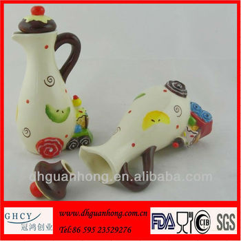 Ceramic Oil And Vinegar Cruets