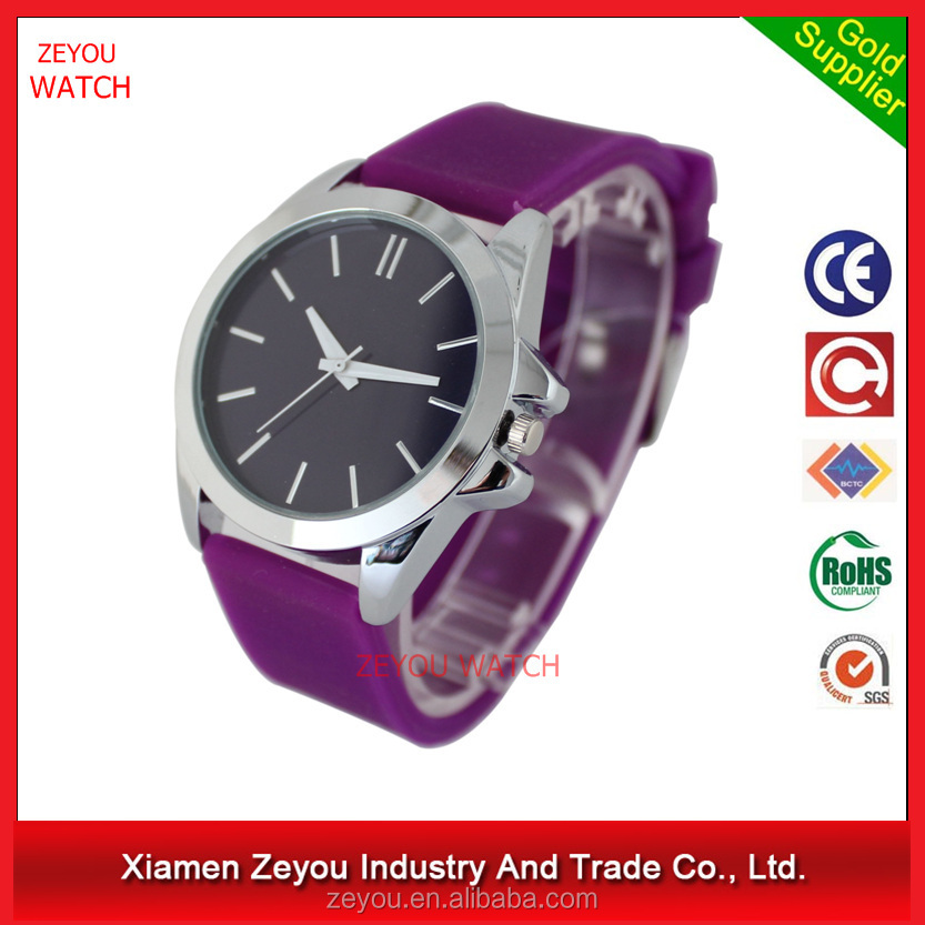 R0690 Good and cheap stylish silicon watch ,Japan quartz movementssilicon watch