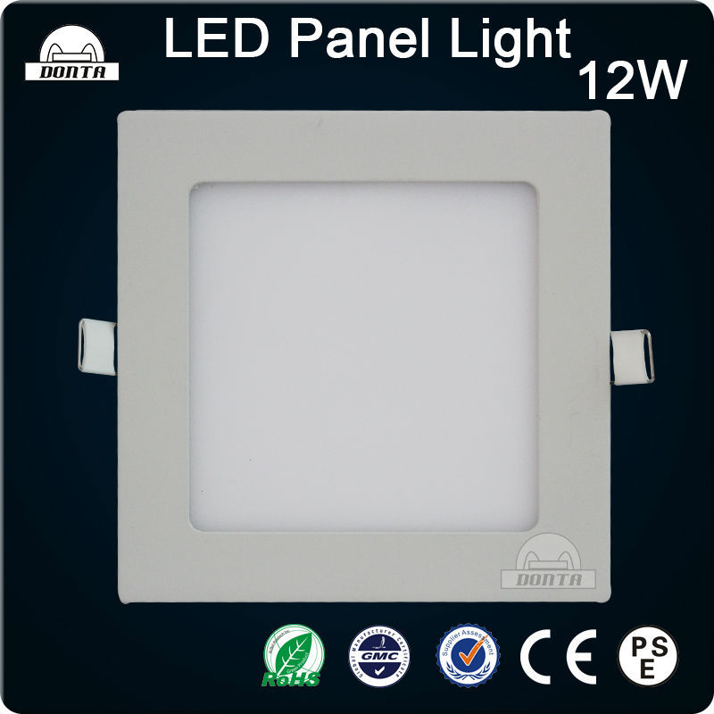 3w 6w 9w 12w 15w 18w Residential slim ceiling flat square led panel light