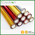 Various Colors Laser Holographic Hot Stamping Foil Roll for Plastic/PVC/Chair/Decoration/Cup/Accessories Used in Stock