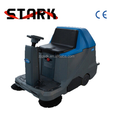 Electric ride on road sweeper clean car for quiet place