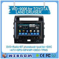 for toyota land cruiser 200 car radio with gps 2008 2009 2010 android car audio with can bus mirror link car dvd player with gps