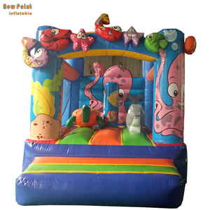 Marine organism Inflatable Jumping Bounce house bouncy castle for Kids