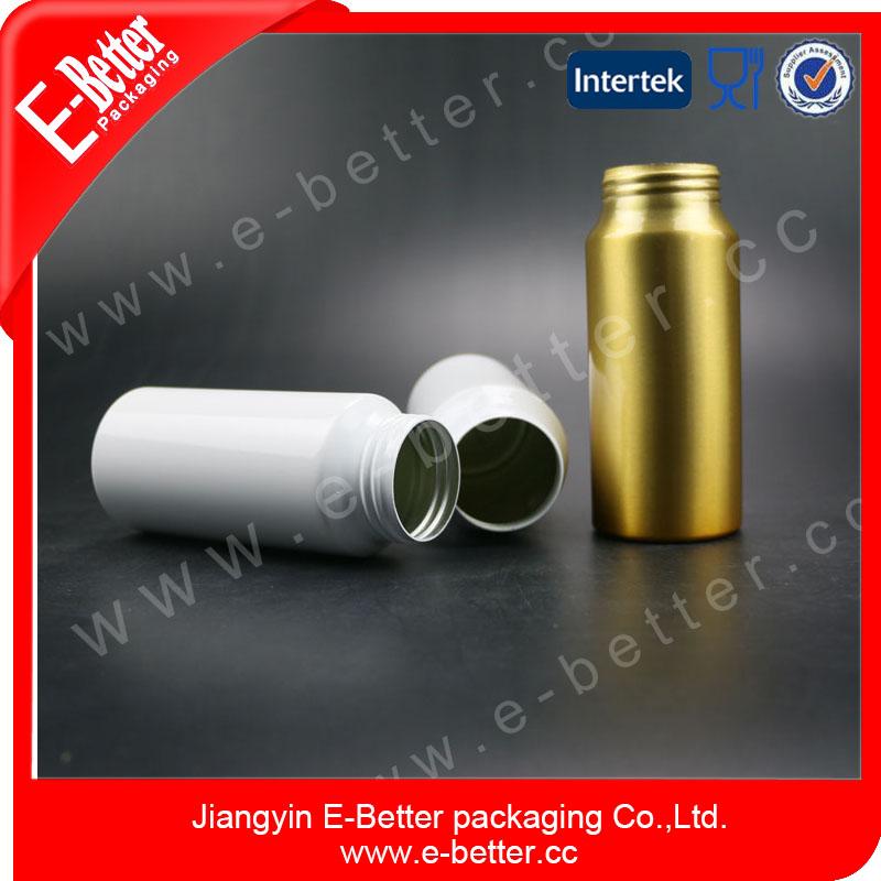 230cc aluminum Medicine Bottles,Drug Pill Container,Tablets Container Silver Cap