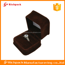 antique style classic luxury jewelry box velvet ring Box wholesale ,Multicolor box for ring