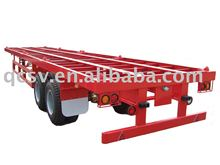 40feet Flatbed trailer with Tandem axle