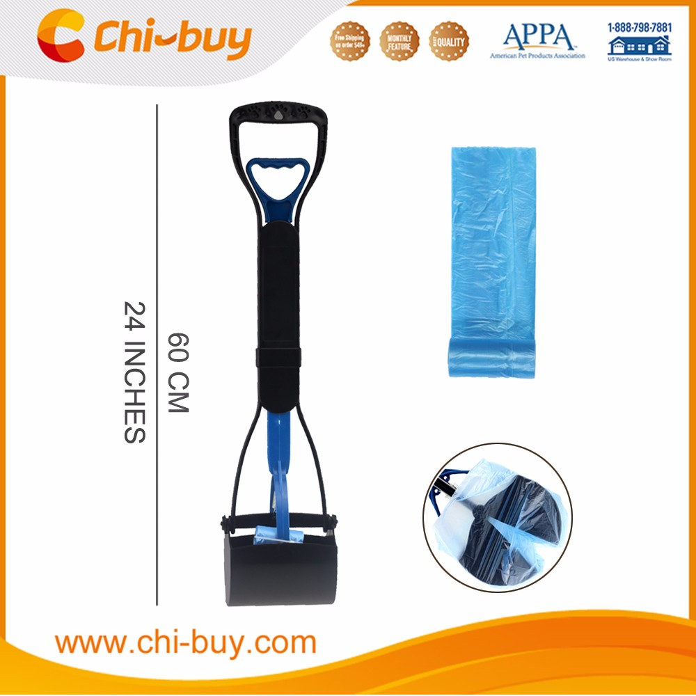 Chi-buy Dog Poop Picker With bag, no dirty, Durable ABS Material