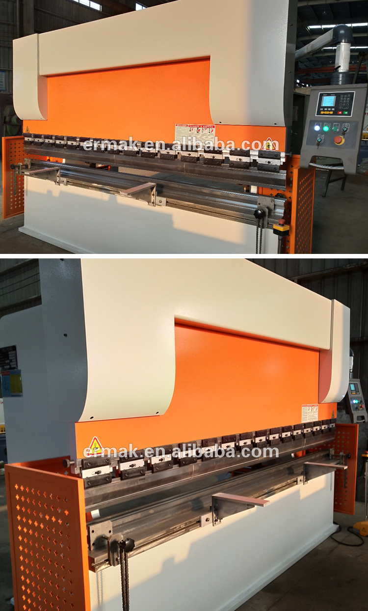 Hot sale CNC carbon steel plate hydraulic press brake stainless steel bending machine
