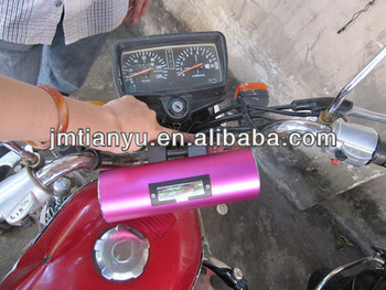 Factory 12V low price China manufacture motorcycle alarm with 2.5inch speaker