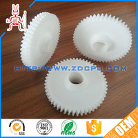 High abrasion resistant durable ROHS POM small plastic spur gear