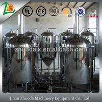 600L High Efficient Brewing Beverage Machinery
