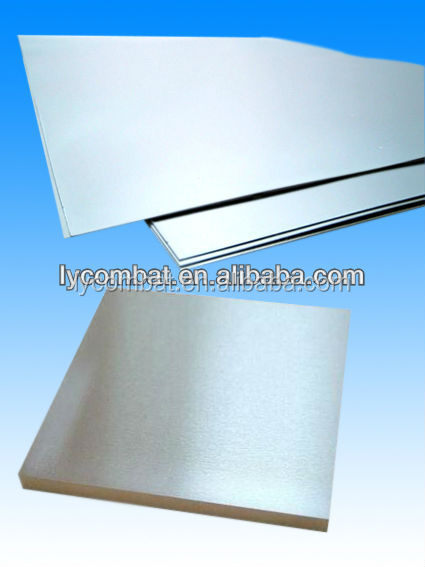 Tungsten carbide Sheet metal
