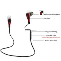 funny bluetooth V4.1 Wireless Stereo sport bluetooth Earbuds Earphones Headset Headphone for micro earphone and headphone