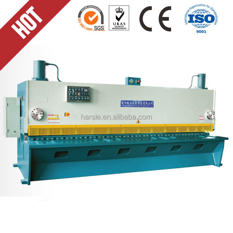 QC11K-8X3200 CNC Guillotine shear cnc hydraulic <strong>shearing</strong> <strong>machine</strong> guillotine shear