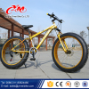 2016 Most popular New Beach cruiser 26'' 4.0 new design steel fat bike /snow mountain bike/ best selling Golden Fat Bike