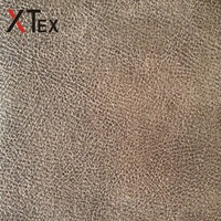 wholesale high quality embossed bronzed printed dyed suede fabric for sofa upholstery furniture
