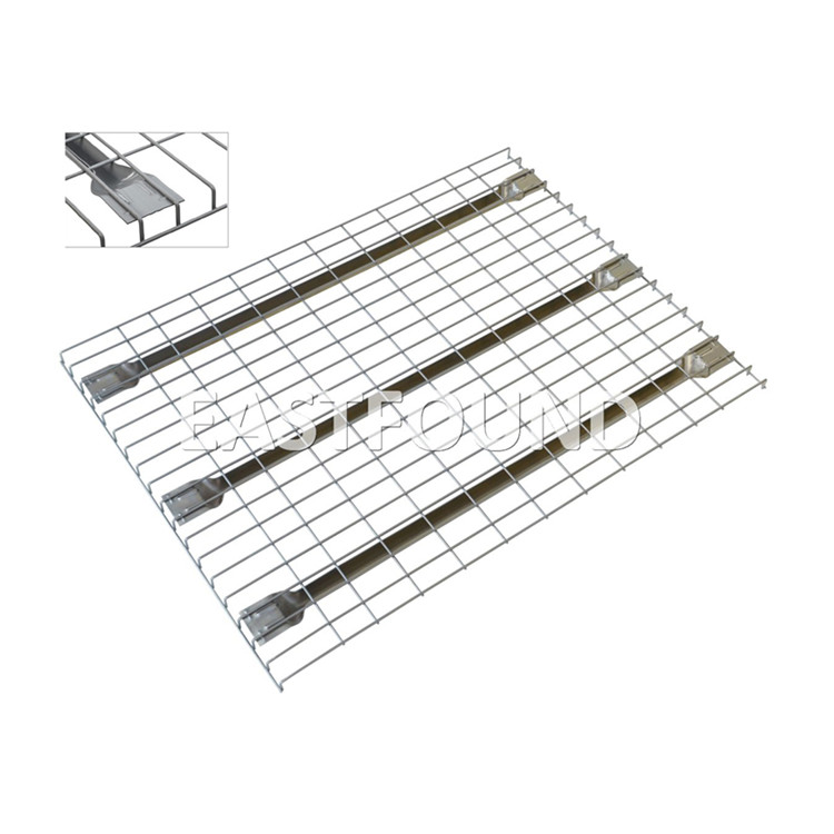 Eastfound manufacture box beam F channel zinc welded wire rack deck