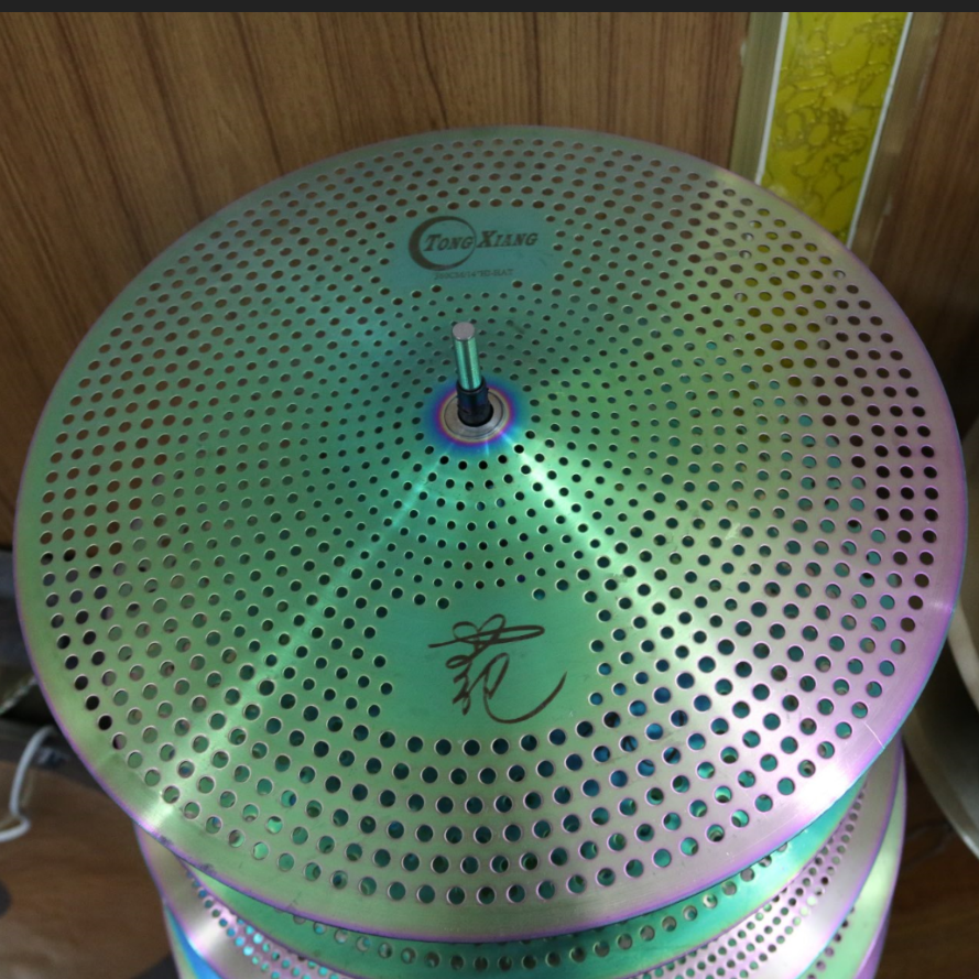 High quality mute cymbal for Electronic drum low volume cymbal