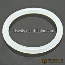 FDA food grade transparent silicone rubber o rings