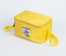 Outdoor insulation picnic thermal lunch cooler bag