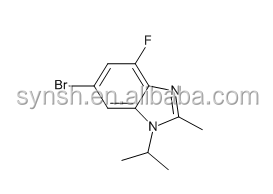 6-Bromo-4-fluoro-1-isopropyl-2-methyl-1H-benzo[d]imidazole CAS NO.1231930-33-8