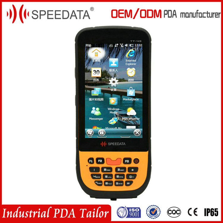 4.5inch Large Screen TT45 WM6.5 OS Portable Data Collector Terminal GSM Mobile Handheld Barcode Scanner