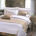 China Famous Hotel Supplier OEM Satin Bed Sheet Bedding Set