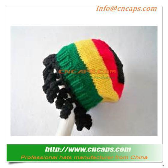 Custom Printed Free Rasta Hat Crochet Pattern