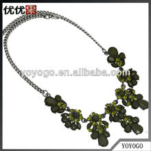 2013 Crew Inspired Lastest Mixed Rhinestone And Rsin Necklace Channel Fashion Accessory