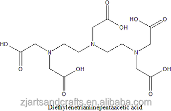 Diethylenetriaminepentaacetic acid;DTPA;CAS#67-43-6;99%; white powder;ZCF04934