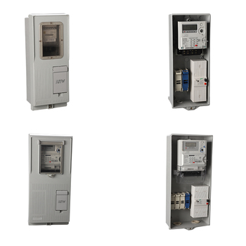 To supply africa type benin,togo,mali,Cameroon,single phase and Three phase prepaid energy meter box coffret