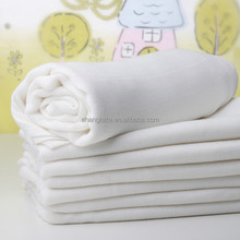 "Muslin Baby Wrap Blanket Swaddle Diaper 100% Organic Cotton Super Soft 47x47"" After Washed"